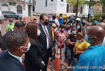 Moradores del corregimiento de Ancón exigen sus bonos solidarios impreso o digital - Día a día
