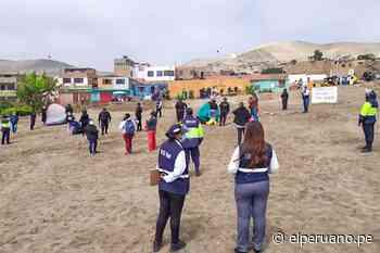 Logran el retiro pacífico de ocupantes ilegales en Sitio Arqueológico de Ancón - El Peruano