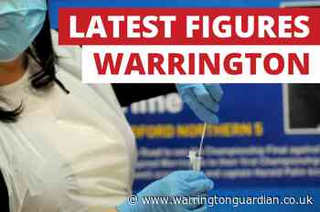 The number of positive Covid tests in Warrington in a week