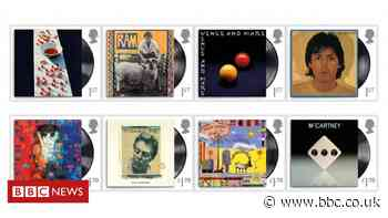 Sir Paul McCartney honoured by Royal Mail stamps