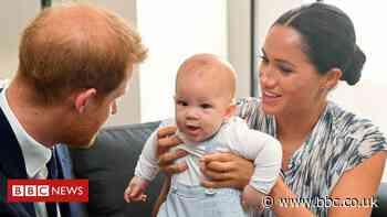 Queen wishes great-grandson Archie happy birthday