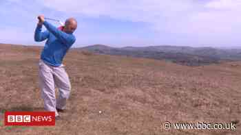Rhayader man uncovers long-lost golf course in lockdown
