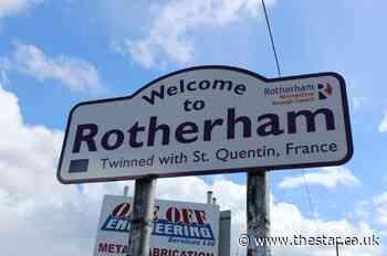 Work begins on damaged Rotherham flood defence - The Star