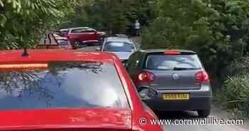 Traffic chaos in Truro blamed on roadworks - Cornwall Live