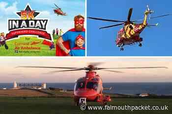 Enter Cornwall Air Ambulance 'Superhero' fundraiser challenge - Falmouth Packet
