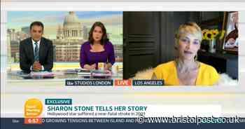 Good Morning Britain's Adil Ray shut down by Sharon Stone