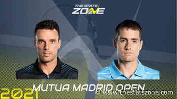 2021 Madrid Open Second Round – Roberto Bautista Agut vs John Isner Preview & Prediction - The Stats Zone