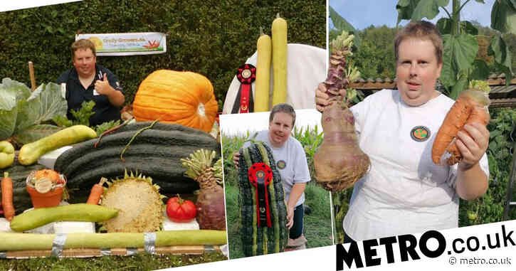 Gardener with world record for giant veg doesn't eat any as he hates the taste