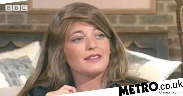 We genuinely do not recognise Claudia Winkleman without her signature fringe in this throwback clip