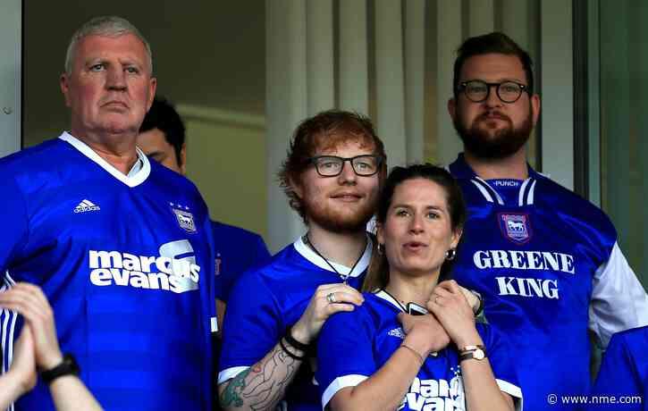 Ed Sheeran to sponsor Ipswich Town kits next season