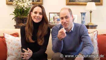 Royaler Kanal: Prinz William und Kate erobern YouTube
