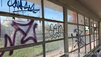 Listed Brighton bus shelters targeted by graffiti vandals