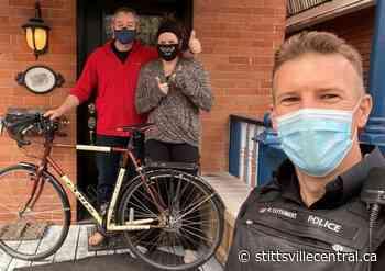 Project Handlebar - frontline officers recovering stolen bikes - StittsvilleCentral.ca