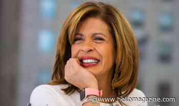 Hoda Kotb is so excited as she shares wonderful news with fans