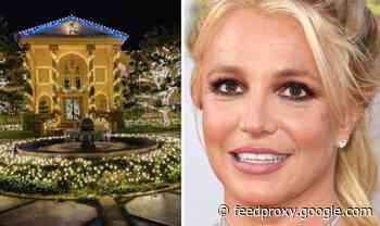 Britney Spears home: Photos inside the singer's stunning £5.3m mansion in California