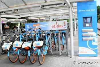 Deze zomer deelfietsen Blue-bike in Essen - Gazet van Antwerpen