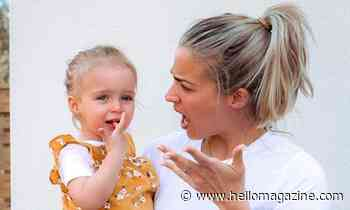 Gemma Atkinson shares amazing food hack for baby Mia's mealtimes - HELLO!