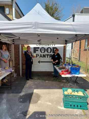 Mayor of Winchester visits Community Food Pantry - Hampshire Chronicle