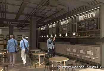 Name chosen for new £467k food hall - Kent Online