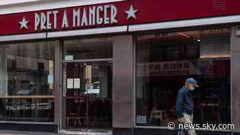 Pret A Manger cleared of food safety offence after student had severe allergic reaction - Sky News