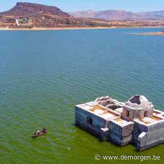 Mexicaanse tempel herrijst na 40 jaar uit water door extreme droogte