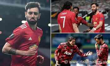 Bruno Fernandes hails Edinson Cavani's impact at Manchester United and 'champion mentality'