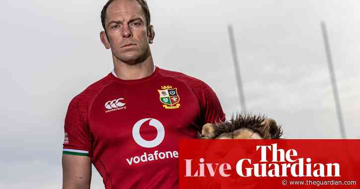 Alun Wyn Jones leads expanded British & Irish Lions squad to South Africa – as it happened