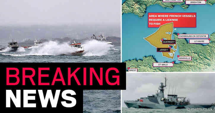 French boats flee Jersey after stand-off with Royal Navy