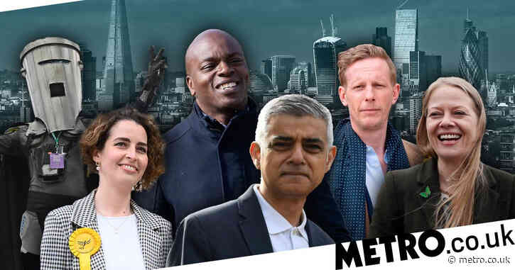 London Mayor Election 2021: Who are all the candidates?