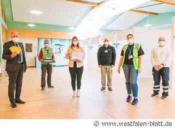 Salzkotten: Johanna ist der 100.000ste Impfling im Kreis Paderborn