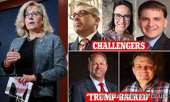 GOP wants to boot Liz Cheney from CONGRESS as six challengers are lining up for 2022 battle