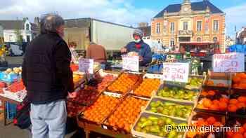 Pour les vendeurs et leurs clients, Etaples a déjà le plus beau marché de France - Delta FM