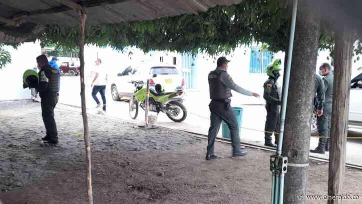 Dos policías fueron asesinados a bala en Tierralta, Córdoba - EL HERALDO