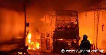 El incendio en la empresa San Cristóbal generó pérdidas por más de $150.000.000 - El Liberal Digital