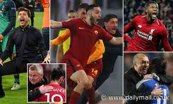 Beware Man United... the impossible CAN happen! Roma bid to overturn 6-2 deficit tonight
