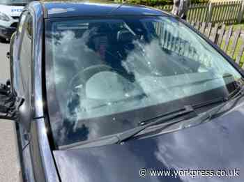 'Senseless' spree of damage to vehicles in villages near York