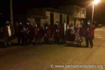 En Huancané, Moho y Putina advierten medidas radicales si gobernador Luque no atiende demandas de la población - Pachamama radio 850 AM