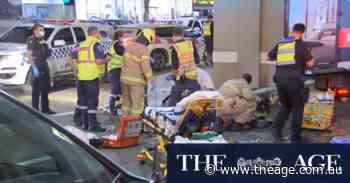 Man arrested after crash left five people in hospital