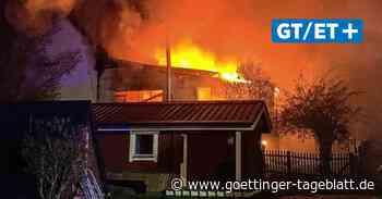 Uslar-Gierswalde: Großbrand zerstört Tischlerei - Göttinger Tageblatt
