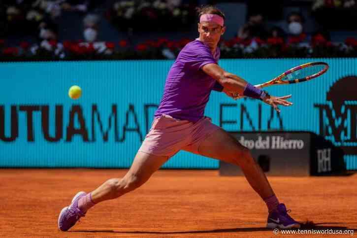 ATP Madrid: Rafael Nadal downs Alexei Popyrin to reach quarters