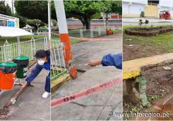 Tingo María: Advierten deficiencias en infraestructura y seguridad de parques públicos - INFOREGION