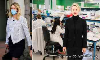 Theranos executives begged disgraced Elizabeth Holmes to step down in the company's last days