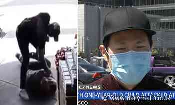 Asian dad with stroller punched 14 times during unprovoked attack outside San Francisco supermarket