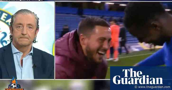 The Fiver | Gloriously po-faced crying in the media over Eden Hazard smiling
