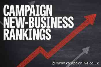 New-business rankings: 6 May 2021