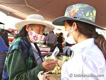 Trabajar unidos con los comerciantes: Karina Mejía - Tula de Allende Hidalgo - Noticias de Texcoco