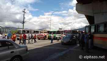 Transportistas de Guarenas y Guatire protestaron por la escasez de gasoil - El Pitazo