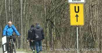In der Gemeinde Simmerath: Bauarbeiten beeinträchtigen Straßenverkehr - Aachener Zeitung