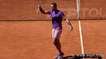 Nadal reaches Madrid quarters; Barty into final