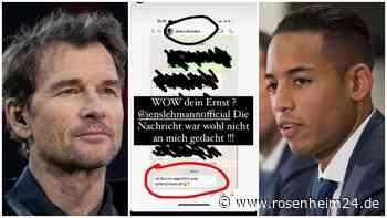 Rassismus-Eklat: Jens Lehmann schickt Dennis Aogo Rassismus-Nachricht auf WhatsApp und ist Job bei Hertha B... - rosenheim24.de